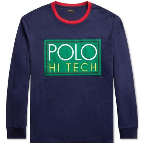 935f7797ea632 Hi Tech Logo Graphic long sleeve T-shirt